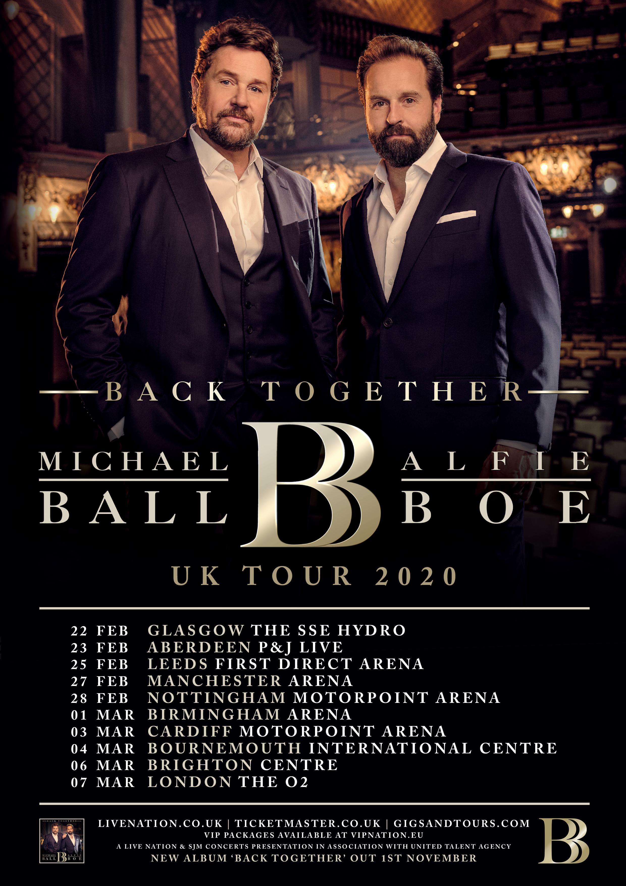 UK Tour 2020 Poster
